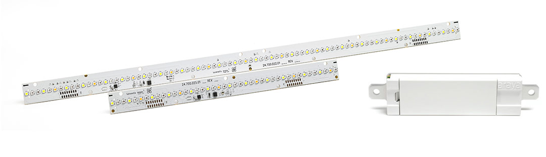 Linear Light Engines with Controllers